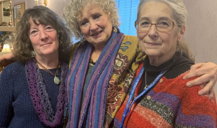 Pam Collins, Julie Holmberg and Laurie Singer